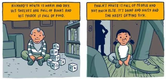 穷人和富人的差距是怎样一点点拉开的?这组风靡Facebook的漫画会让你震惊! 会计职场 第3张