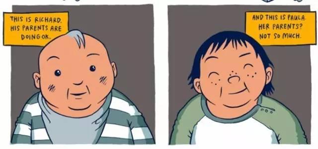 穷人和富人的差距是怎样一点点拉开的?这组风靡Facebook的漫画会让你震惊! 会计职场 第2张