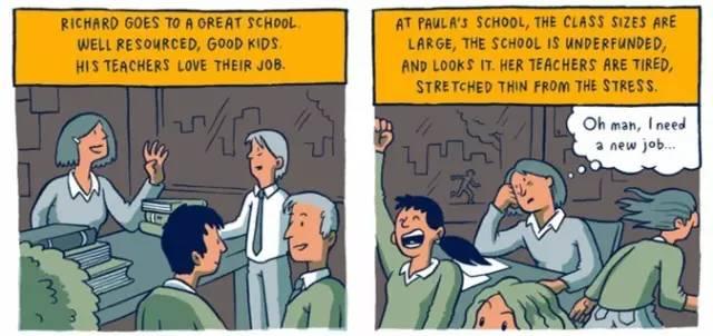 穷人和富人的差距是怎样一点点拉开的?这组风靡Facebook的漫画会让你震惊! 会计职场 第5张