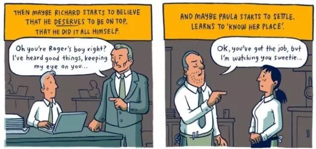 穷人和富人的差距是怎样一点点拉开的?这组风靡Facebook的漫画会让你震惊! 会计职场 第10张