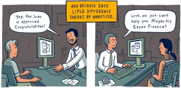 穷人和富人的差距是怎样一点点拉开的?这组风靡Facebook的漫画会让你震惊! 会计职场 第9张