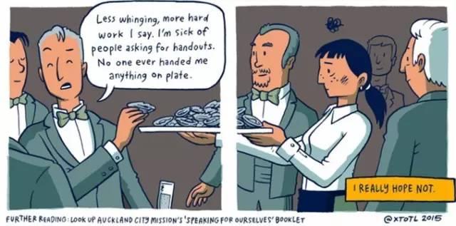 穷人和富人的差距是怎样一点点拉开的?这组风靡Facebook的漫画会让你震惊! 会计职场 第12张