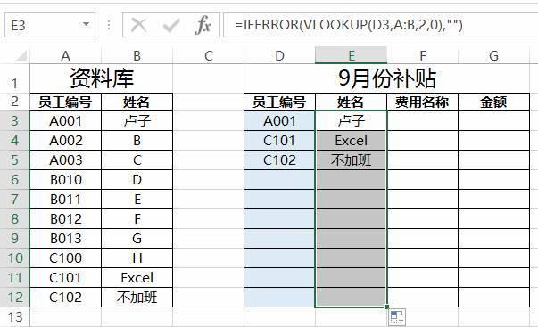 详细到每一步!员工费用补贴表制作方法,一目了然(收藏) 〖会计知识〗 第7张