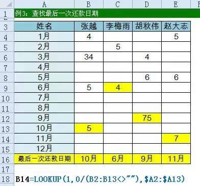 只会Vlookup函数Out了!Excel所有查找公式全在这儿(共16大类) 〖会计知识〗 第11张