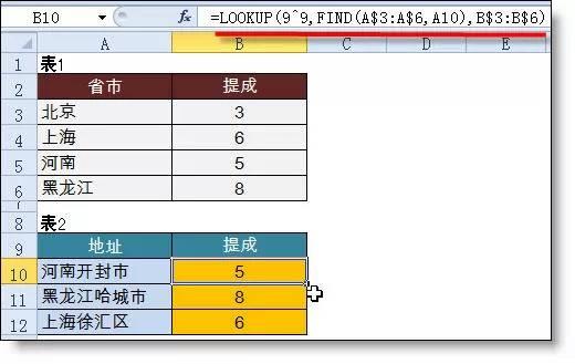 只会Vlookup函数Out了!Excel所有查找公式全在这儿(共16大类) 〖会计知识〗 第10张