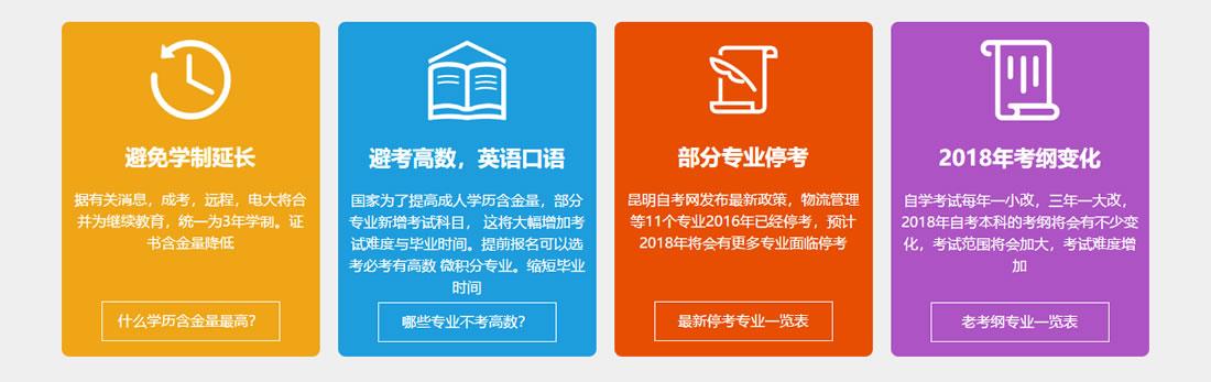 2018云南昆明成人学历 成人高考简章 成人学历 第4张