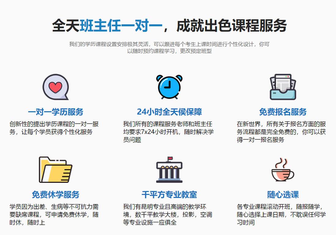 2018云南昆明成人学历 成人高考简章 成人学历 第19张