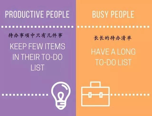 没时间学习?15张图看懂瞎忙和高效的区别 会计职场 第9张