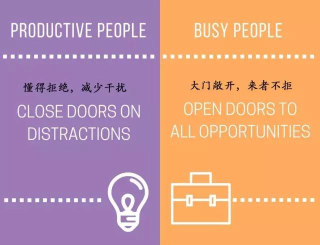 没时间学习?15张图看懂瞎忙和高效的区别 会计职场 第10张